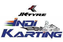 JK Tyre IndiKarting Logo