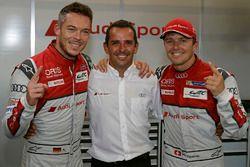 Polesitter: #7 Audi Sport Team Joest, Audi R18: Marcel Fässler, Andre Lotterer, Benoit Tréluyer