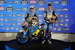 Jack Miller, Marc VDS Racing Honda and Tito Rabat, Marc VDS Racing Honda