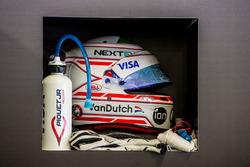 Шлем Нельсона Пике мл., NEXTEV TCR Formula E Team