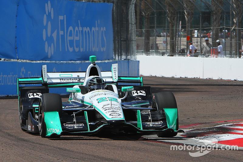 #22: Simon Pagenaud (Penske-Chevrolet)