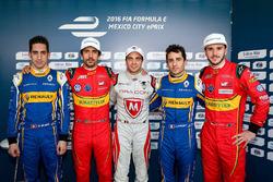 Sébastien Buemi, Renault e.Dams, Lucas di Grassi, ABT Schaeffler Audi Sport, Jérôme d'Ambrosio, Drag