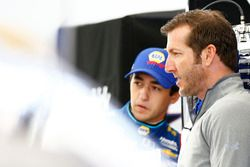 Chase Elliott, Hendrick Motorsports Chevrolet en hoofd techneut Alan Gustafson