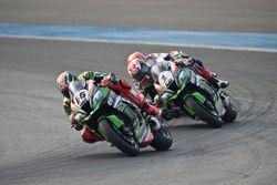 Том Сайкс, Kawasaki Racing Team и Джонатан Рей, Kawasaki Racing Team