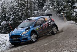 Элфин Эванс и Крейг Перри, M-Sport Ford Fiesta WRC