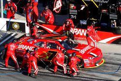 Pit stop Justin Allgaier, JR Motorsports Chevrolet