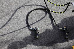 Pistolas de aire de Mercedes AMG F1 pit stop