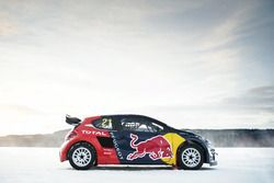 The car of Timmy Hansen