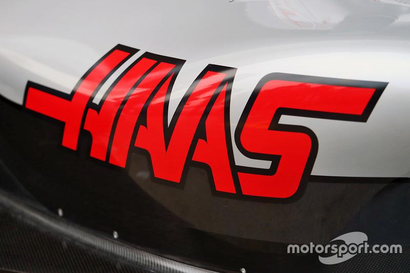 Haas VF-16 sidepod detail