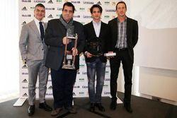 Porsche Carrera Cup Italia, premiazione campioni 2015