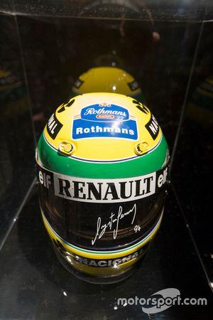 Il casco di Ayrton Senna
