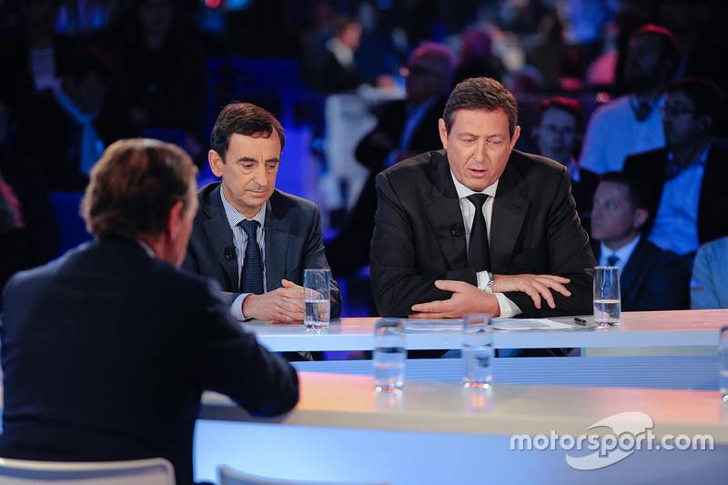 Pierre Fillon et Gérard Neveu