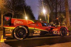 Morve LMP2 RGR Sport ekranda Paris caddelerinde