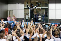 Il campione del mondo Thed Björk, Polestar Cyan Racing, Volvo S60 Polestar TC1