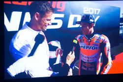 Yılın sürücüsü ödülü galibi Marc Marquez