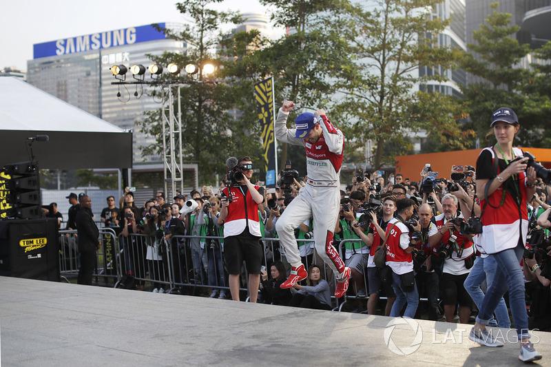 Podium: ganador, Daniel Abt, Audi Sport ABT Schaeffler