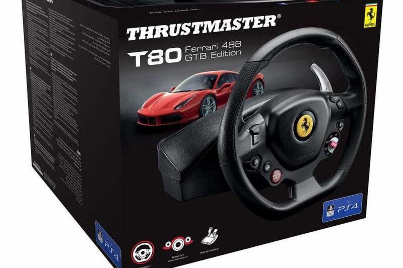 Thrustmaster T80 Ferrari 488 GTB