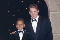 Lewis Hamilton y Jacques Villeneuve