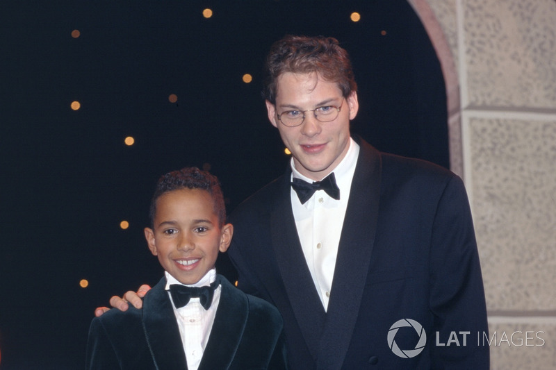 Lewis Hamilton and Jacques Villeneuve