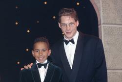 Lewis Hamilton et Jacques Villeneuve
