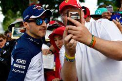 Robert Kubica, Williams, selfie z kibicem