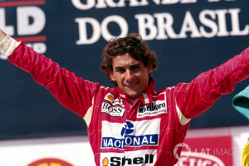 5th Ayrton Senna (4 1 wins)