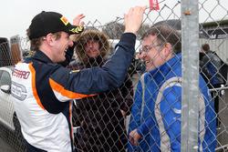 Race winner Nicolai Kjaergaard, Carlin