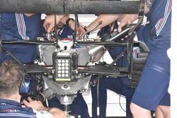 Williams FW41 Mercedes rear detail