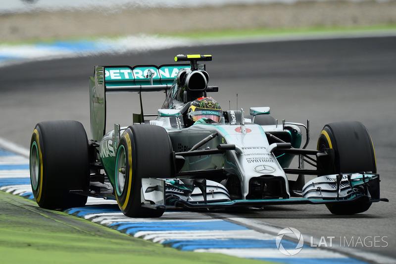 Nico Rosberg, 1 ocasión ganador del GP de Alemania