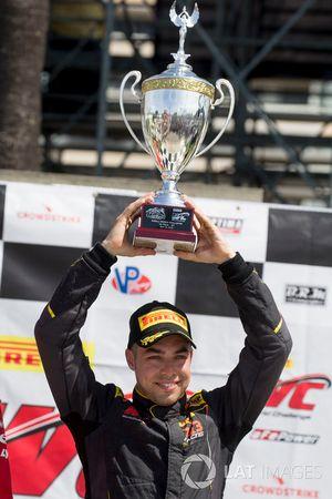 Ganador de la carrera #31 TR3 Racing Ferrari 488 GT3:: Daniel Mancinelli
