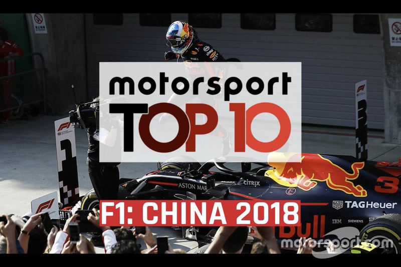 Top 10 Momentos GP de China 2018
