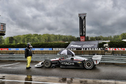 Deelnemers zijn onder rood gestopt in de pitstraat, Josef Newgarden, Team Penske Chevrolet
