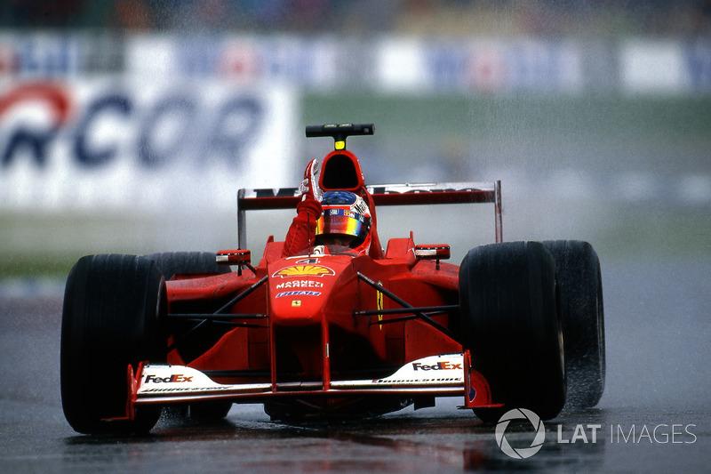 Outro destaque é Rubens Barrichello, que venceu na Alemanha, 2000, de 18º no grid. Foi a primeira vitória do brasileiro na F1.