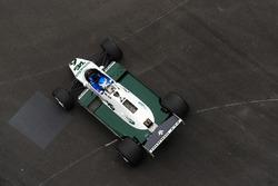 Keke Rosberg drives his championship winning Williams FW08