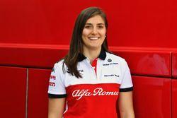Tatiana Calderón, piloto de prueba Sauber