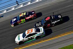 William Byron, Hendrick Motorsports,AXALTA Chevrolet Camaro, Gray Gaulding, BK Racing, Toyota Camry,