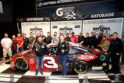 Austin Dillon, Richard Childress Racing Chevrolet Camaro, mit Richard Childress, Justin Alexander un