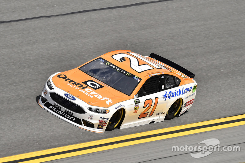 #21: Paul Menard, Wood Brothers Racing, Ford Fusion