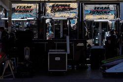Penske Racing transporters