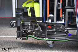 Aileron avant de la Williams FW41