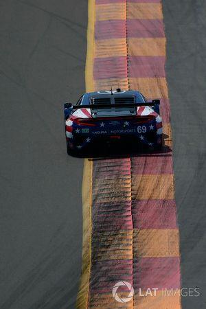 #69 HART Acura NSX GT3, GTD: Chad Gilsinger, Ryan Eversley, Tom Dyer