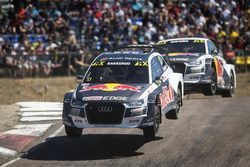 Andreas Bakkerud, EKS Audi Sport Mattias Ekström, EKS Audi Sport