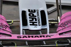 Detalle del morro del Force India VJM11