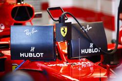 Sebastian Vettel, Ferrari SF71H, yeni ekran