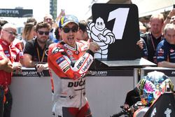 En pole position : Jorge Lorenzo, Ducati Team