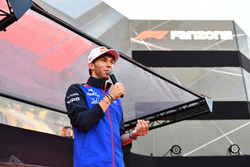 Pierre Gasly, Scuderia Toro Rosso at The Fan Zone