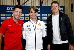 Пресс-конференция: Майк Роккенфеллер, Audi Sport Team Phoenix, Аугусту Фарфус, BMW Team RMG, и Пол ди Реста, HWA Team