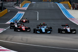 Juan Manuel Correa, Jenzer Motorsport and Ryan Tveter, Trident and Gabriel Aubry, Arden International