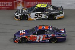 Denny Hamlin, Joe Gibbs Racing, Toyota Camry FedEx Freight Kasey Kahne, Leavine Family Racing, Chevrolet Camaro Chevy Accessories