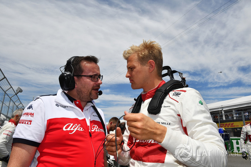 Marcus Ericsson, Sauber on the grid